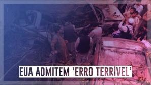 EUA admitem 'erro terrível' em ataque que matou...