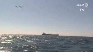 Um dos navios britânicos é liberado