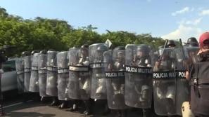 Forças mexicanas detêm 800 migrantes de caravana