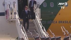 Bolsonaro chega ao Chile