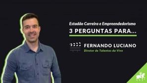 3 perguntas para Fernando Luciano