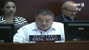 OEA pede à Nicarágua calendário eleitoral
