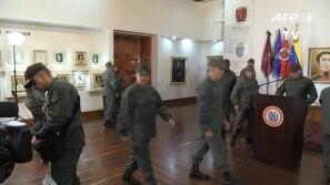 Militares garantem bloqueio