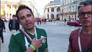Mexicanos falam sobre atropelamento em Moscou