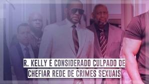R. Kelly é considerado culpado de chefiar rede...