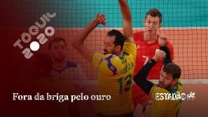 Brasil perde para os russos no vôlei e fica fora...