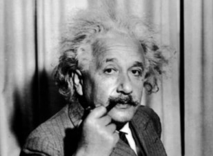 Menina tem o cabelo igual ao de Albert Einstein