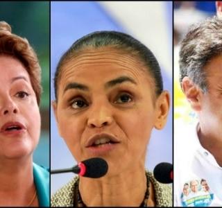 Dilma amplia vantagem sobre Marina no 1º turno; no 2º, ambas obtêm 41%, diz Ibope