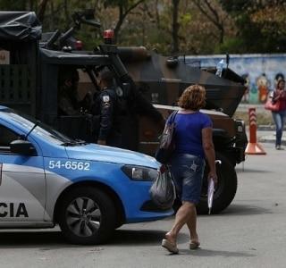 30 mil PMs já estão nas ruas do Estado do Rio para as eleições