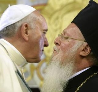 Papa Francisco e patriarca ortodoxo defendem união