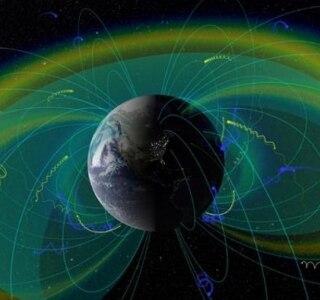 Campo de força natural protege Terra contra bombardeio de radiação