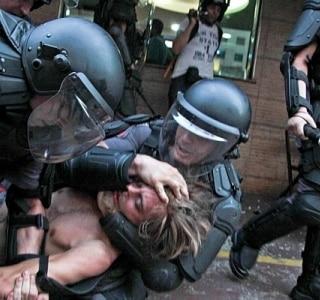 Alckmin dá 'nota 10' a manifestação e critica ação de 'infiltrados'