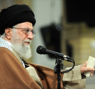 AFP PHOTO / HO / IRANIAN SUPREME LEADER'S WEBSITE