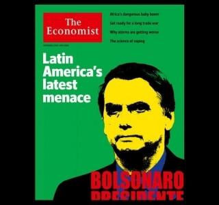 'The Economist' chama Bolsonaro de 'a mais recente ameaça da América Latina'