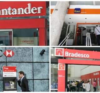 Estoque de crédito em bancos privados cai 0,3% em maio