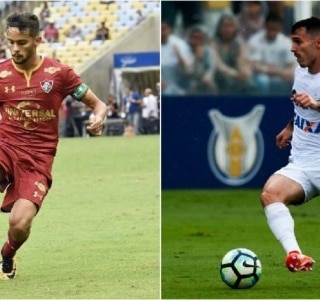 Mailson Santana/Fluminense e Ivan Storti/Santos FC