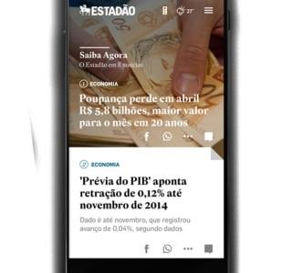 Veja as principais novidades do novo site móvel do Estadão