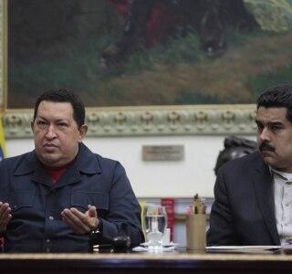 REUTERS/Miraflores Palace/Handout