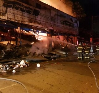 Corpo de Bombeiros / Divulgação