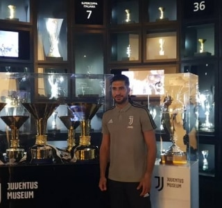 Reprodução/Juventus Twitter Oficial
