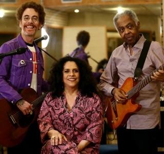 Nando Reis, Gal Costa e Gilberto Gil formam o 'Trinca de Ases' e estreiam turnê em SP