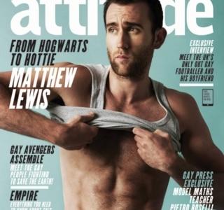 J. K. Rowling comenta foto em que Matthew Lewis está sem camisa