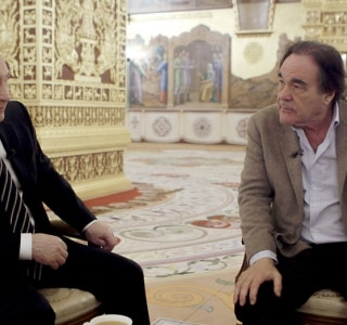 Entrevistas de Vladimir Putin com Oliver Stone são compiladas em livro