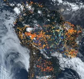 Resultado de imagem para Brasil registra quase 5 mil focos de queimadas na Amazónia em setembro