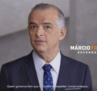 Reprodução/Campanha Marcio França