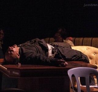 Espetáculo O Filho cia. Teatro da Vertigem. Direção Eliana Monteiro. FOTO: JOSÉ CARDOSO