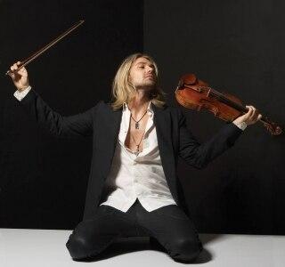 Foto do violinista David Garrett Foto Divulgação