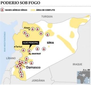 Opositores de Assad celebram ataque