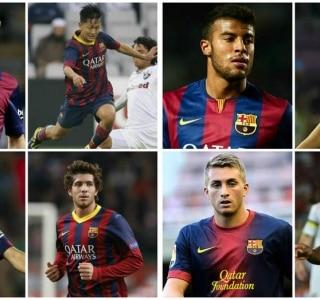 Dez jogadores da base que podem representar o futuro do Barcelona ... 8016c45ef3f2c