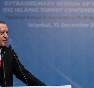 Yasin Bulbul/AFP