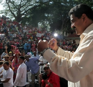 AFP PHOTO / Venezuelan Presidency / FRANCISCO BATISTA