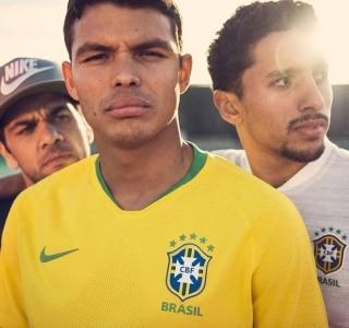 e0b35770ac CBF revela nova camisa do Brasil com amarelo  vibrante  inspirado na ...