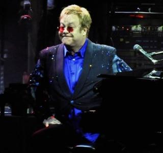 Elton John, no Rio de Janeiro, em fevereiro de 2014. Foto: ALEXANDRE DURAO/ESTADÃO