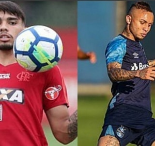 Gilvan de Souza/Flamengo e Lucas Uebel/Grêmio