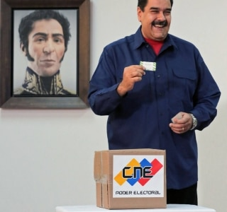 AFP PHOTO Venezuelan Presidency
