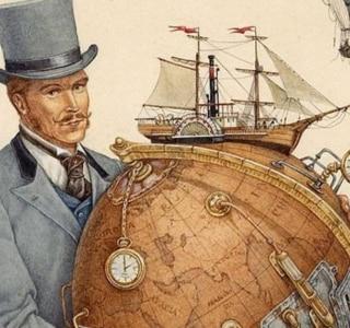 Inédito no Brasil, livro de Jules Verne critica o povo americano
