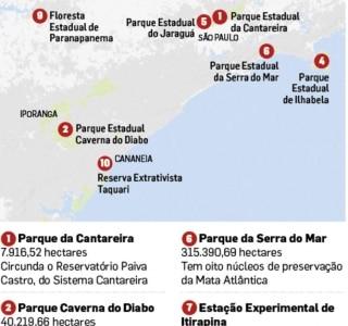 Plano prevê concessão de parques e florestas