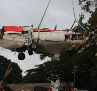 Justiça arquiva inquérito de queda do helicóptero que matou filho de Alckmin