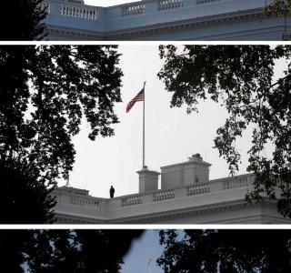 REUTERS/Joshua Roberts, Kevin Lamarque and Leah Millis