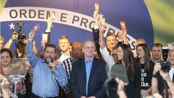 PDT oficializou nome de Ciro para disputar o Planalto. Foto: Dida Sampaio/Estadão