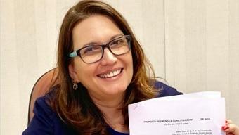 Deputada Bia Kicis. Foto: @biakicis