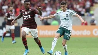 Flamengo e Palmeiras fazem encontro marcado por rivalidade Foto: Cesar Greco/Ag. Palmeiras