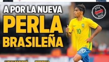 9f9f47cf8c Paquetá é manchete na Espanha por interesse do Barça   pérola brasileira