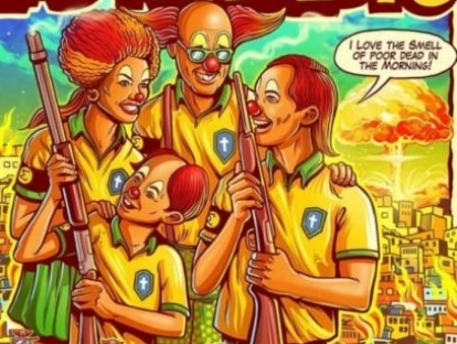 Após polêmica com Bolsonaro, grupo e ilustrador divergem sobre cartaz