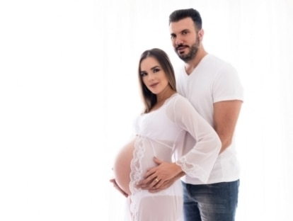 Marido conta que Thaeme tentou parto normal durante 39 horas