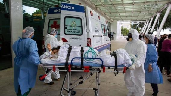 Brasileiros acompanham horrorizados o colapso da saúde pública em Manaus. Foto: Michael Dantas/AFP